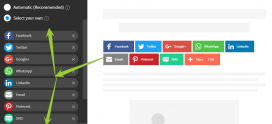 How To Add Social Sharing Buttons To Blogspot Blog